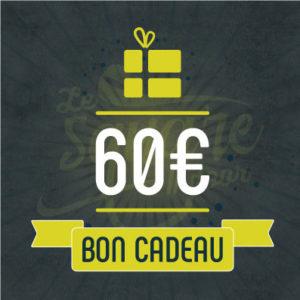 bon cadeau 60€